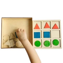 Развивающая игра формы, Сенсорика