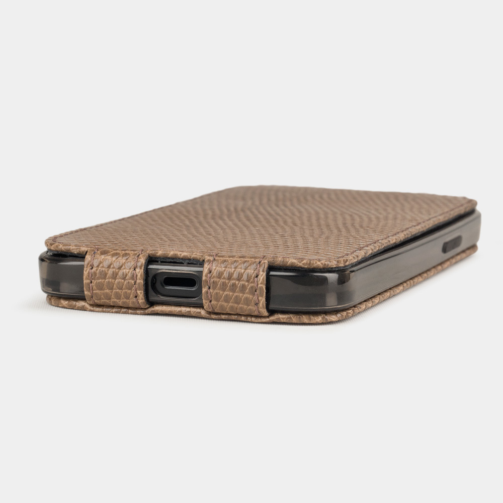 Case for iPhone 12 & 12 Pro - lizard beige