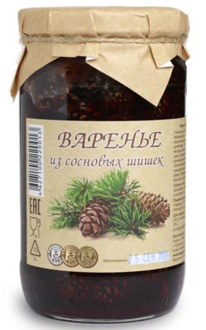 Варенье из сосновых шишек, 480 гр