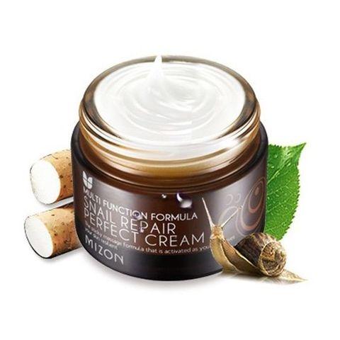 Регенерирующий крем для лица с муцином (слизью улитки) | Mizon Snail Repair Perfect Cream 50ml