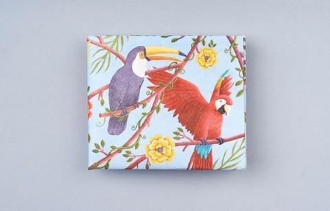 Экологичный бумажник New Parrots