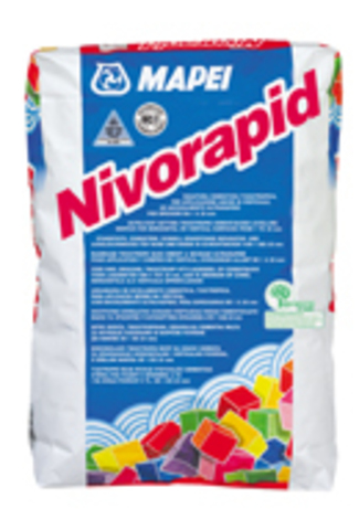 MAPEI NIVORAPID/МАПЕЙ НИВОРАПИД выравнивающий и ремонтный состав для горизонтальных и вертикальных поверхностей минеральных оснований