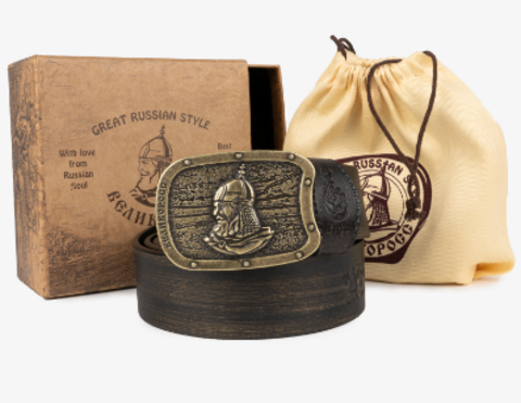 Подарочный набор ремней «Богатырская отвага»