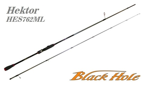 Спиннинг Black Hole Hektor 762ML 2.28м, 5-25, HES-762ML