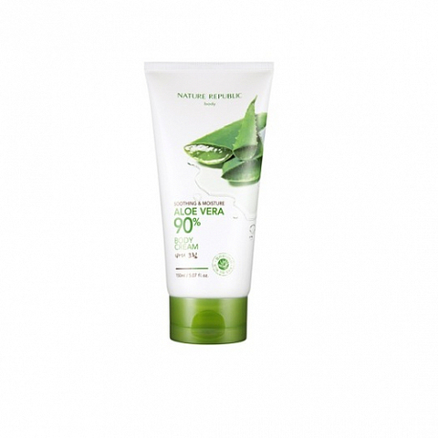 NATURE REPUBLIC Soothing & Moisture Aloe Vera 90% Body Cream