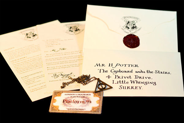 Письмо Гарри Поттера