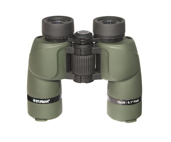 Бинокль Sturman 10x36 зелёный - фото 3