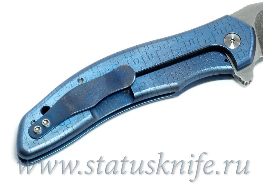 Нож Gerry McGinnis Valve Puzzle/ Raskind - фотография