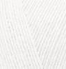 Пряжа Alize MERINO STRETCH 55 (белый)