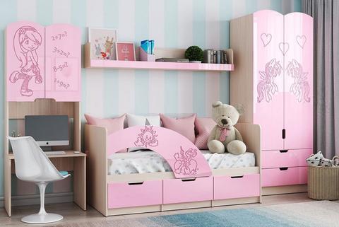 Детская Юниор-3 розовая