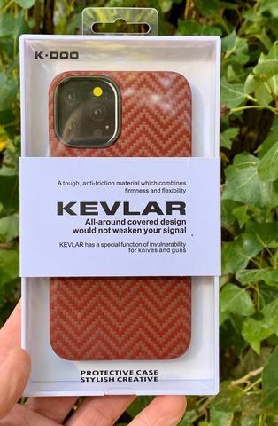 Чехол iPhone 12 Pro Max /6,7''/ K-DOO Kevlar case /M pattern/