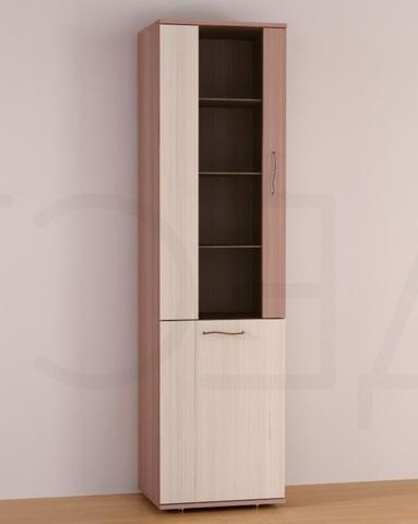 Шкаф-витрина МАДЕРА-1 левый  /500*1884*407/