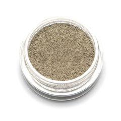 TNL, Бульонки металлические супер мелкие серебро 0,2 мм, 3 гр