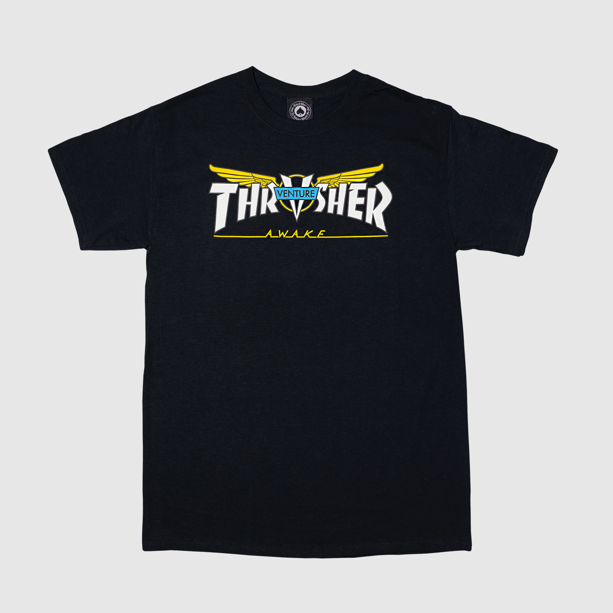 Футболка THRASHER VENTURE COLLAB BLACK