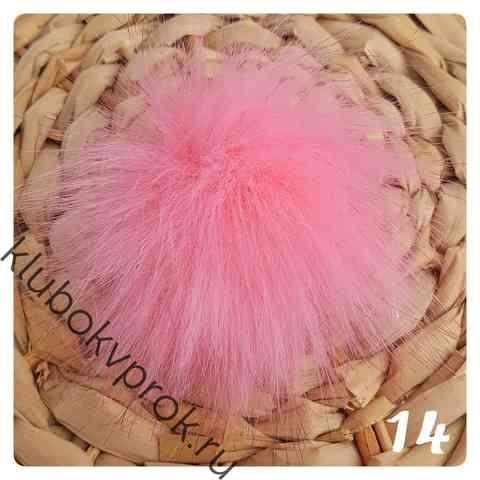 Помпон ЭКО 8-9 см 14, Розовый