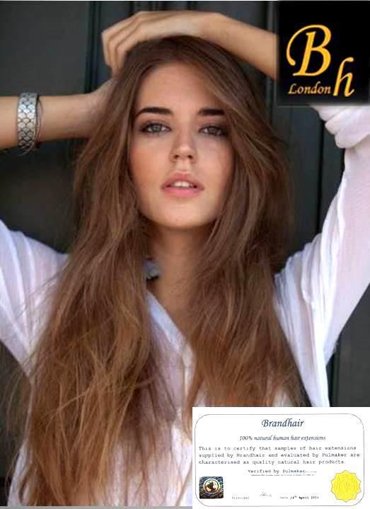 Волосы на заколках цвет #12-светлый орех
