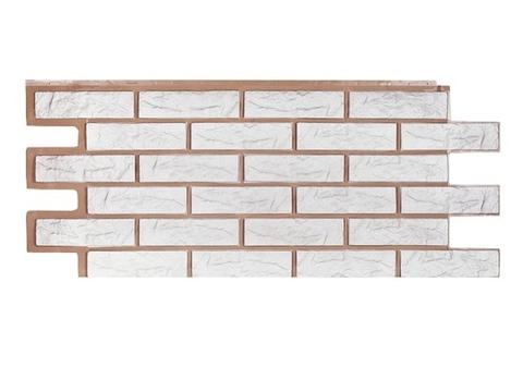 Фасадная панель Лондон Брик - Белый