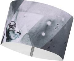Теплая спортивная повязка на голову Buff Headband Tech Fleece Hatay Grey