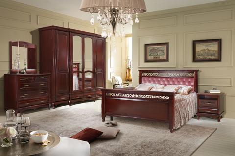 Спальня Оскар с кроватью Венеция