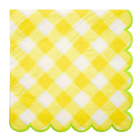 Салфетки желтые