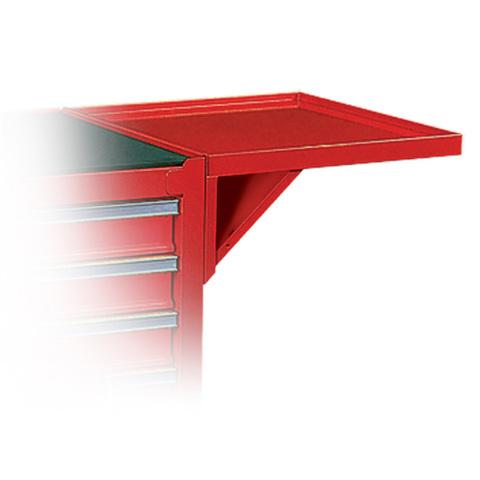 МАСТАК (550-10457R) Полка навесная для инструментальных тележек, красная