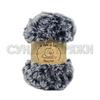 Wool Sea Fancy Fur 101 (чёрно-серый меланж)