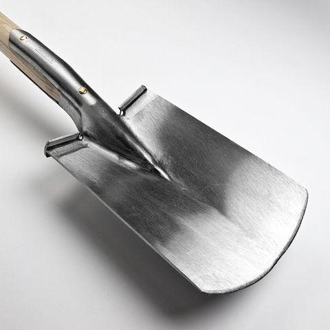 Лопата садовая Sneeboer, кованая из нержавейки с D-образной рукояткой
