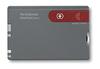 Швейцарская карточка Victorinox SwissCard, серая