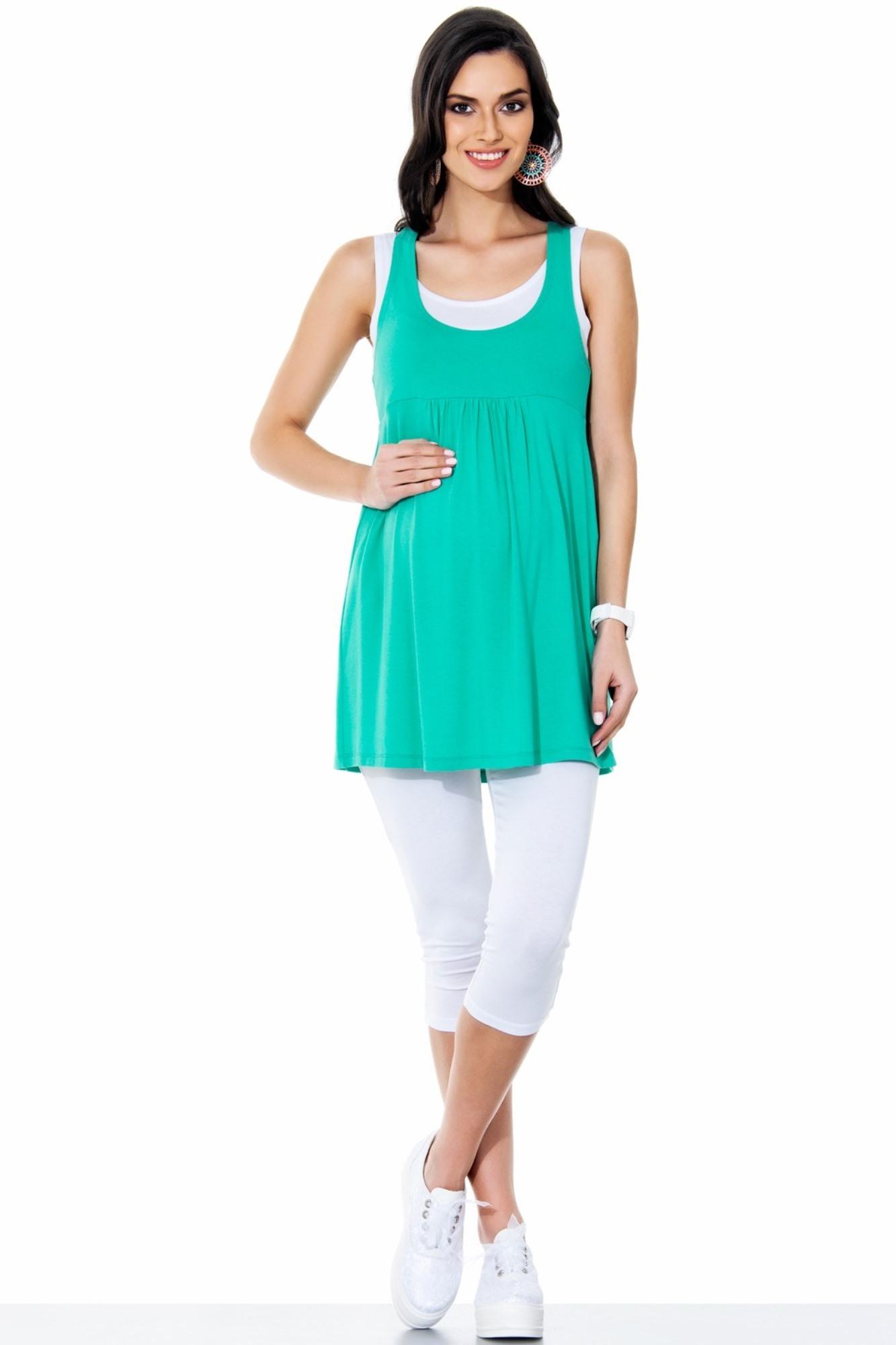Леггинсы для беременных 04418 белый