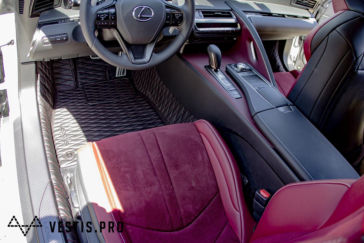 Коврики из эко-кожи Vestis для Lexus
