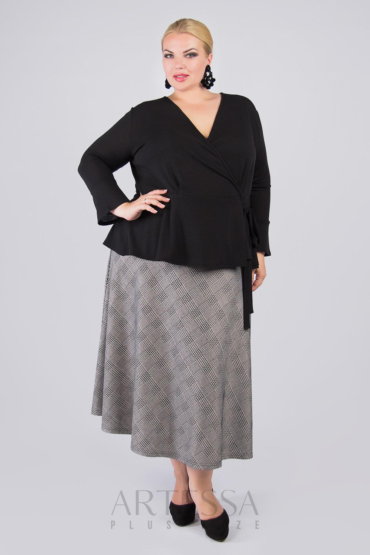 Блузки Блузка черная на запах с кулиской BL25124BLK00 IMG_0924.9999x9999w___копия.jpg