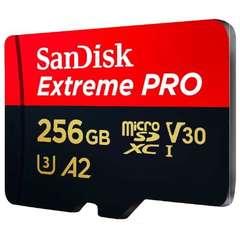 Карта памяти microSDXC 256GB SanDisk Class 10 UHS-I A2 C10 V30 U3 Extreme Pro