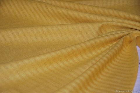 Льняная римская штора Кларин мимоза