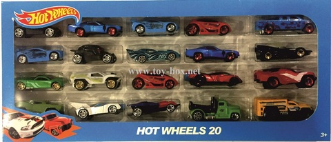 Набор Машинки Hot Wheels - 20 шт в уп.