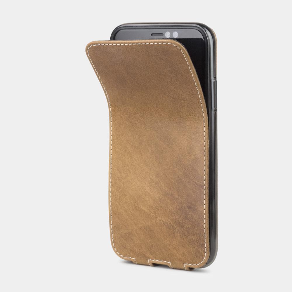 Чехол для iPhone XR из натуральной кожи теленка, цвета винтаж