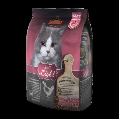 Leonardo Adult Light Сухой корм для кастрированных котов и стерилизованных кошек с избыточным весом с птицей