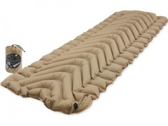 Надувной коврик Klymit Insulated Static V Recon, песочный - 2
