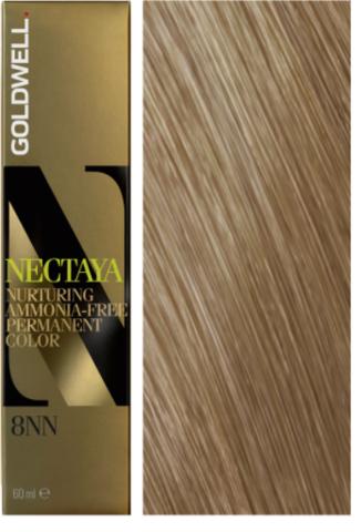 Goldwell Nectaya 8NN светло-русый - экстра 60 мл