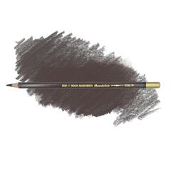 Карандаш художественный акварельный MONDELUZ, цвет 33 коричневый темный