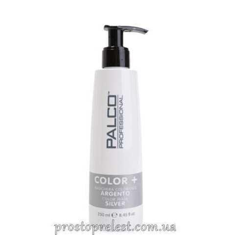 Palco Professional Color + Color Mask Silver - Питательная тонирующая маска для волос Серебро