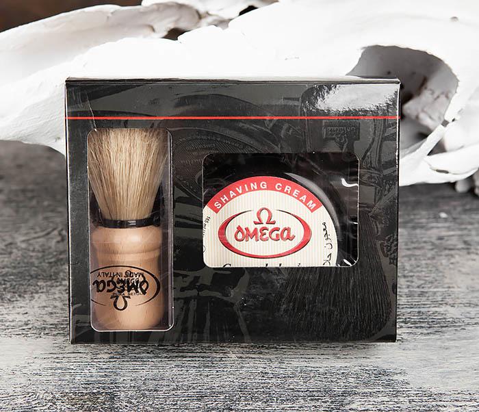RAZ59.80005 Набор для бритья, помазок и крем