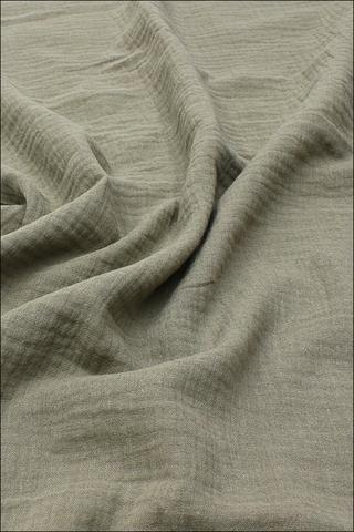 Ткань муслиновая, мокрый песок2