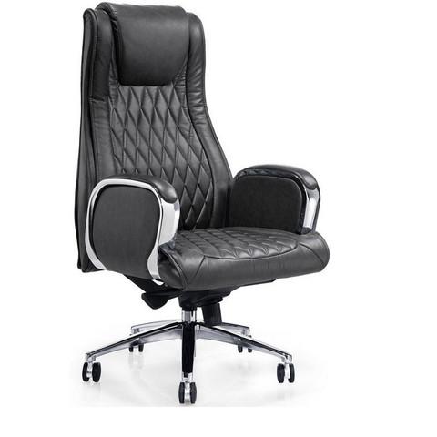 Кресло для руководителя Easy Chair 518 ML черное (кожа/металл)