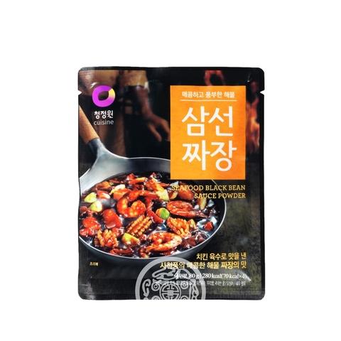 Основа для приготовления соуса Чаджан Cuisine со вкусом морепродуктов 80г Daesang Корея