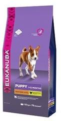 Корм для щенков средних пород, Eukanuba Dog MEDIUM PUPPY