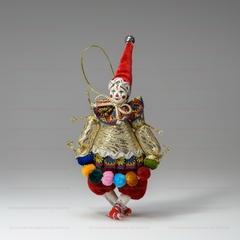 Ёлочная игрушка Клоун с гирляндой