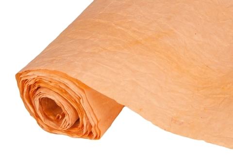 Бумага жатая эколюкс 70см х 5м оранжевая 11