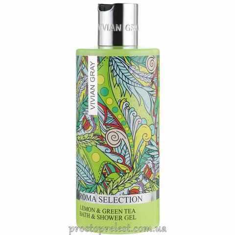 Vivian Gray Aroma Selection Lemon & Green Tea Bath-Shower Gel - Гель для душа