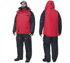 Костюм зимний Alaskan NewPolar M красный/черный раз. XXXL