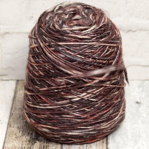 Меринос ровница бордово-коричневый